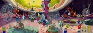 Alien zoo panorama