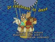 Jenna's Bedtime Blues French