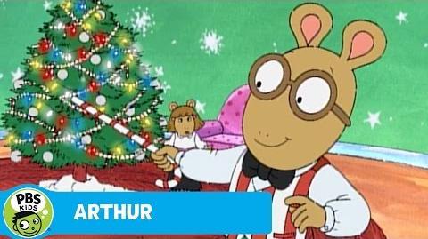 ARTHUR Arthur Sings About Christmas PBS KIDS