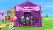 Prunella's Tent of Portent location