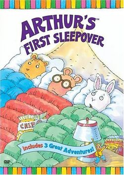 Arthur's First Sleepover (2004 DVD)
