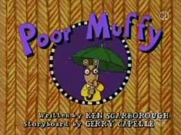Poor Muffy! Title Card
