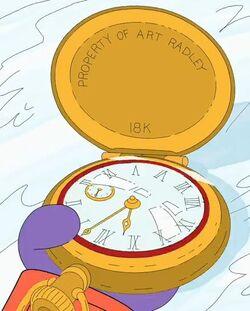 Art radley's pocketwatch