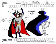 Dark Bunny modelsheet