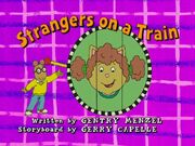 Strangers on a Train - title card