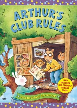 Arthur's Club Rules DVD