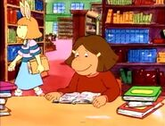 Francine reading and maria cameo