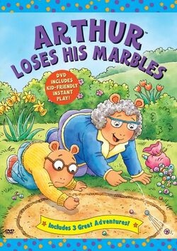 Arthur Loses His Marbles DVD