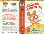 Arthur's Chicken Pox (VHS)