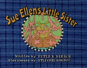 Sue Ellen's Little Sister Title Card