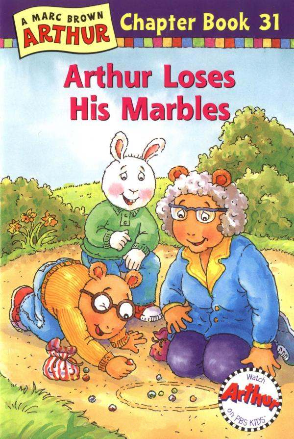 Arthur Loses His Marbles Author Marc Brown