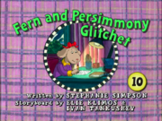 Fern and Persimmony Glitchet Card