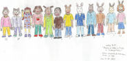 Demetre, Arthur and Friends as Kindergartners