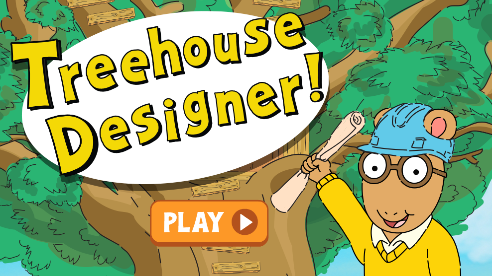 Treehouse Designer! | Arthur Wiki | FANDOM powered by Wikia on robert rodriguez designer, cabin designer, kitchen designer, wedding designer, studio designer, target designer, outdoor designer, safari designer, party designer, tent designer,
