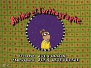 Arthur's Spelling Trubble French