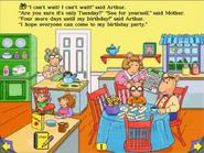Arthur's Birthday LB Page 1