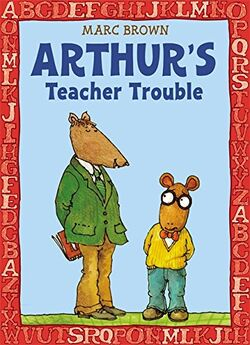 Arthur's Teacher Trouble alternate cover