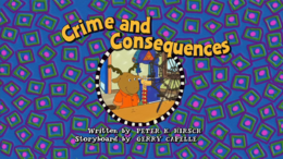 Crime and Consequences Title Card