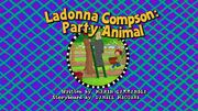 Ladonnacompsonpartyanimaltitlecard uk