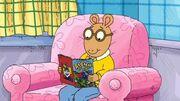 AllAboutDW - Arthur reading comic