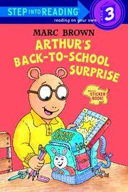 Arthur's Back-to-School Surprise