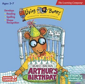 Arthur's Birthday LB Cover