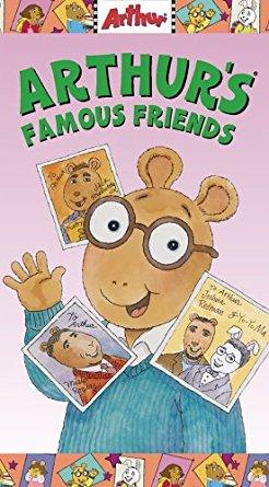 Arthur's Famous Friends VHS