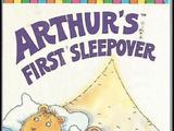 Arthur's First Sleepover (VHS)