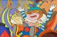 Joker cat and Punchinello