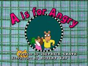 AisforAngry title card