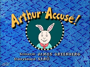 Arthur Accused! French