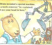 Brain tooth remove machine book version