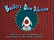Buster's Dino Dilemma title card