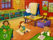 Young Muffy and Young George8 with Francine and Buster
