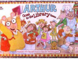 Arthur Goes to the Library