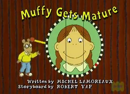 Muffy Gets Mature Title Card