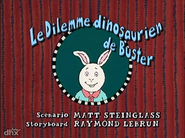 Buster's Dino Dilemma French