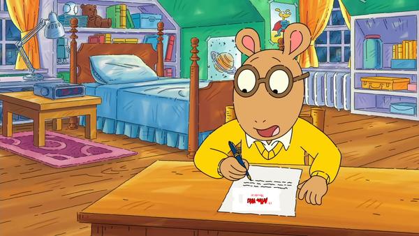 The Arthur Wiki Newsletter template