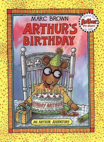 arthurs birthday book