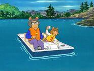1003b 17 Pedal Boat