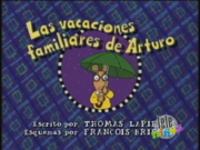 Arthur's Family Vacation Spanish