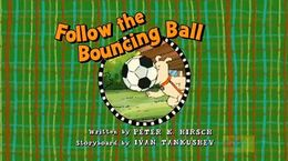 Follow the Bouncing Ball - title card