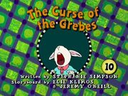 The Curse of the Grebes - title card