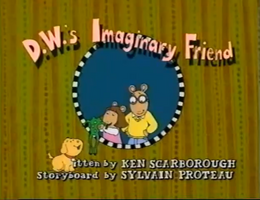 D.W.'s Imaginary Friend title card