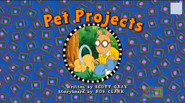 Pet Projects title card 2
