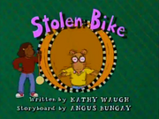Stolen Bike Title Card
