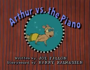 Arthur vs. the Piano Title Card