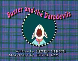 Buster and the Daredevils Title Card
