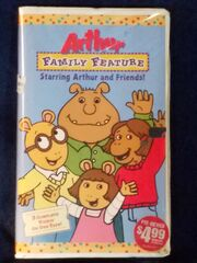 Arthur Family Feature VHS
