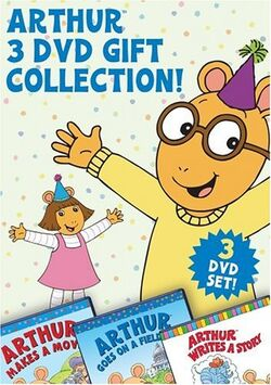 Arthur 3 DVD Gift Collection!